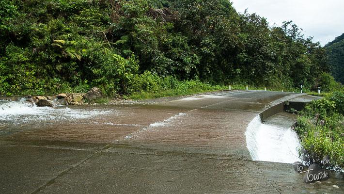 Es kommt reichlich Wasser - von überall her...