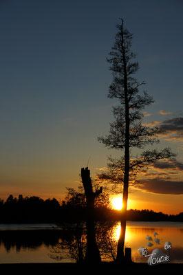 Sonnenuntergang in Sala