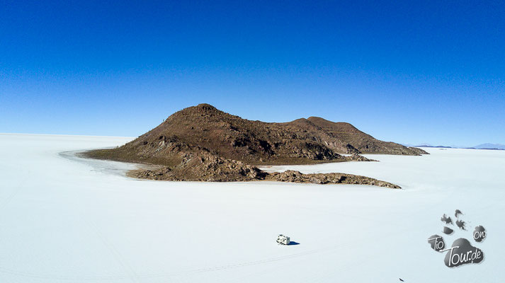 Salar de Uyuni - Drohnenansicht