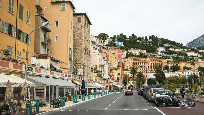 Richtung Riviera