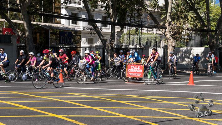 Santiago de Chile - autofreie Straßen