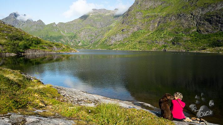 Å - Wanderung zum Süsswassersee