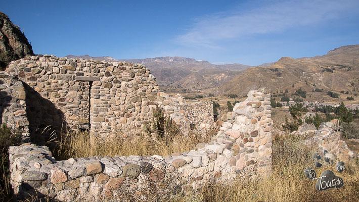 Colca-Canyon, Ugo Uyo - Inka-Ruinen