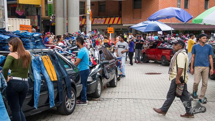 Medellin - Straßenverkäufer