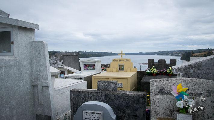 Chonchi - der Friedhof