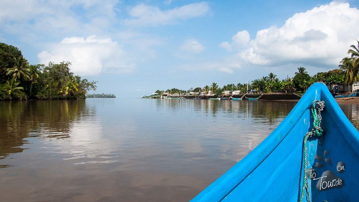 Bootstour auf dem Rio Cayapas