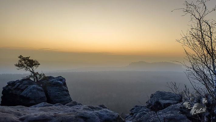 Sonnenuntergang vom Gohrisch