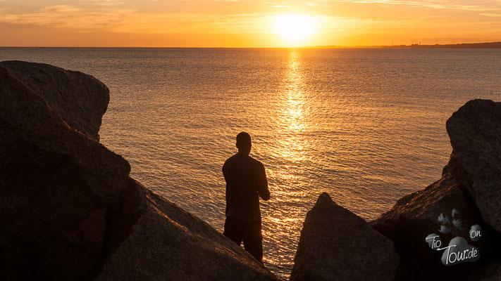 Sunset... auch für Angler