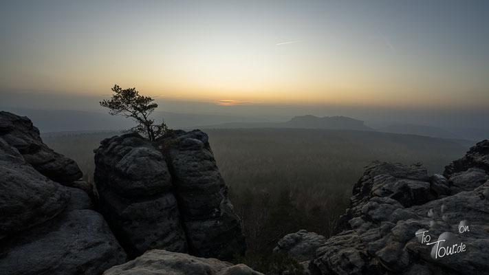 Sonnenuntergang am Gohrisch