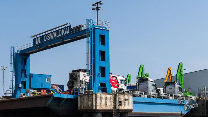 Hamburg - historische Fleetfahrt