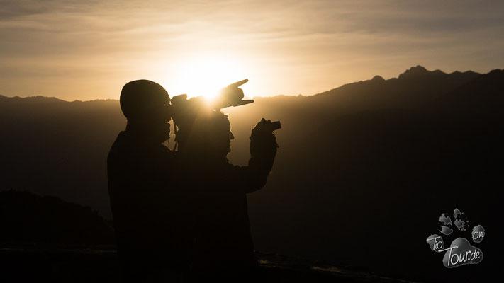 Colca-Canyon, Sonnenuntergang