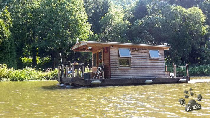 Auch Hausboote kann man mieten.