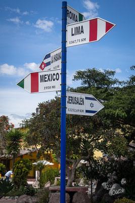 Mitad del Mundo - Wir stehen am Äquator