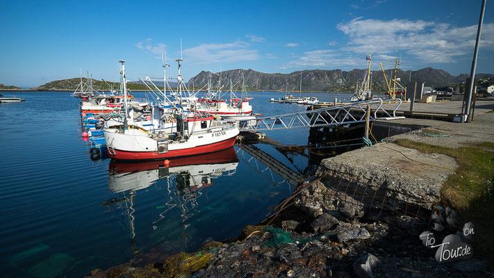 Gjesvær - Hafen