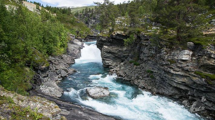 Wanderung am Wasserfall