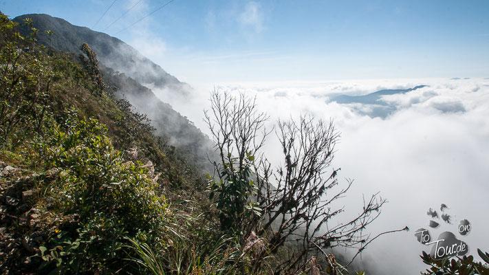 Camino de la Muerte - über den Wolken