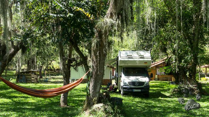 Camping Fogata - ein märchenhafter Stellplatz