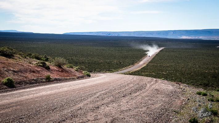 Die naturgewaltige Landschaft an der RP 12