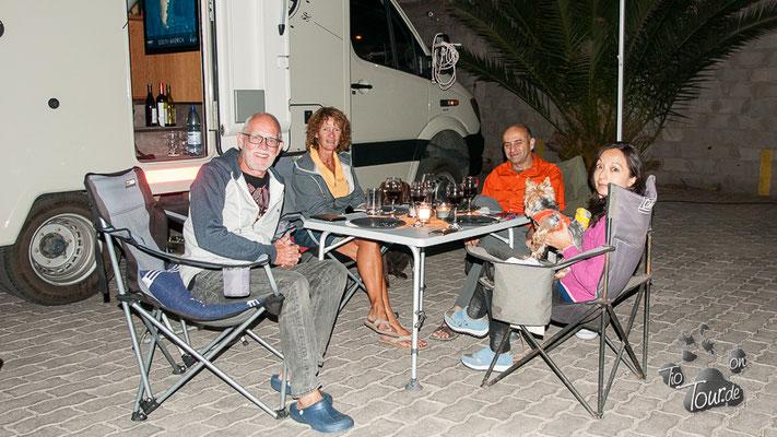Ein schöner Abend mit Karen und René