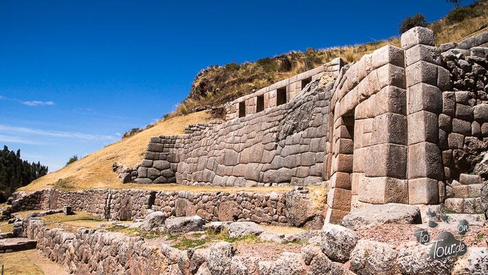 Sacsayhuamán - Inka-Festung in Cusco