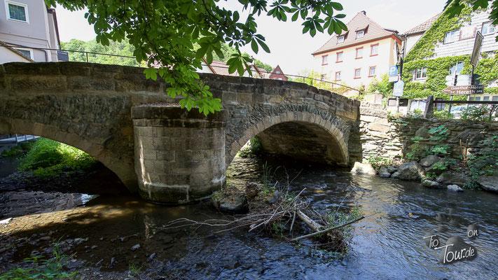 Wirsberg Rundbogenbrücke von 1711