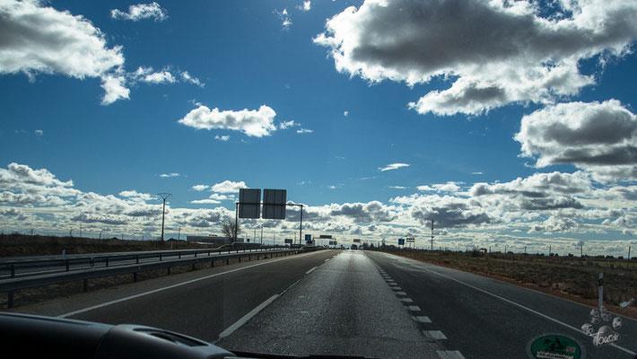 Auf dem Weg nach Jaén