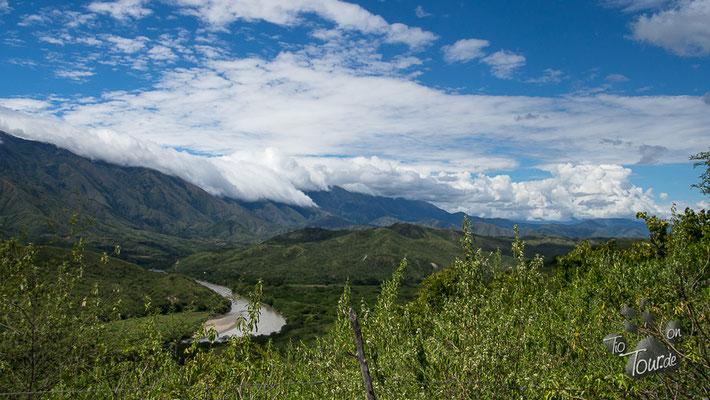 Wattebedeckte Berge ;-)