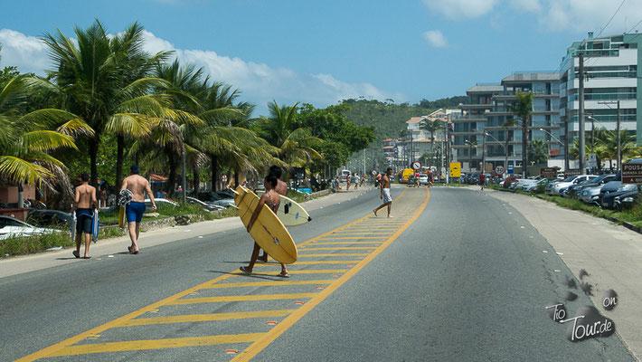 entlang der Costa Verde