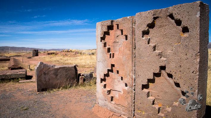Tiwanaku - antike Ruinenstätte
