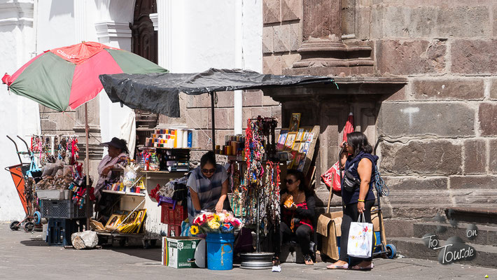 Quito - Stadtansichten