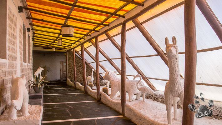 Salzhotel - Galerie der Salzskulpturen