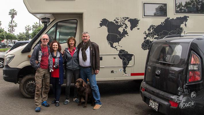 Abschied von Adriaan und Mary - in Buenos Aires sehen wir uns wieder