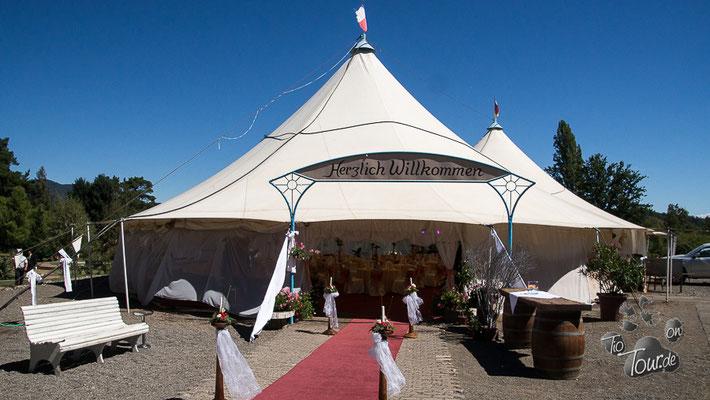 Colonia Dignidad - Hochzeitszelt