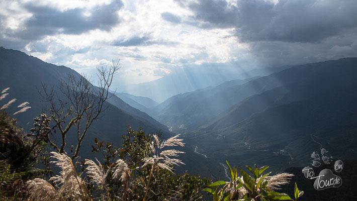 Auf dem Weg nach Cusco - in den Bergen hat es geregnet...
