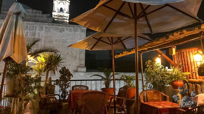 """Arequipa - Restaurant """"Mixtos"""" mit wunderschöner Dachterrasse"""