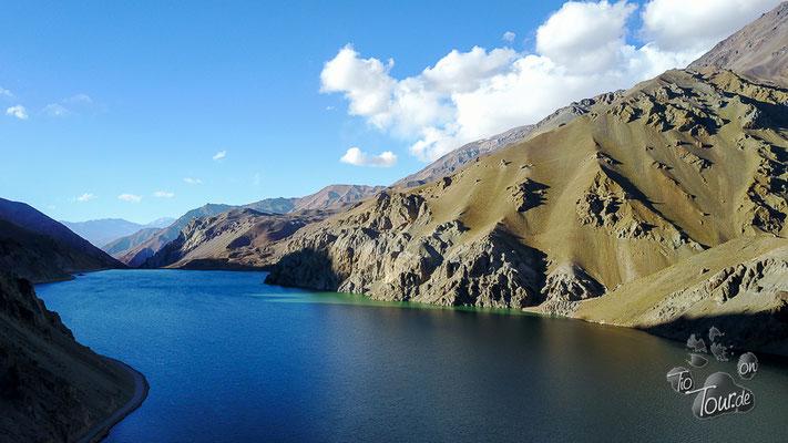 La Laguna am Agua Negra - Drohnenfoto