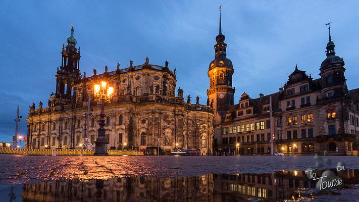 Dresden - Dom und Residenzschloss