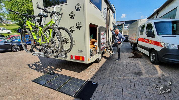 Das neue Solar-Faltpaneel