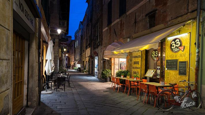 Albenga - Abendstimmung