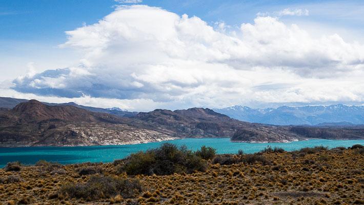 Lago Ghio - leider zu windig !!!