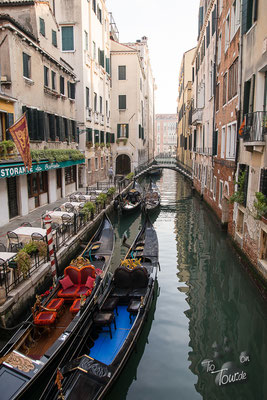 Venedigs enge Gassen und Kanäle