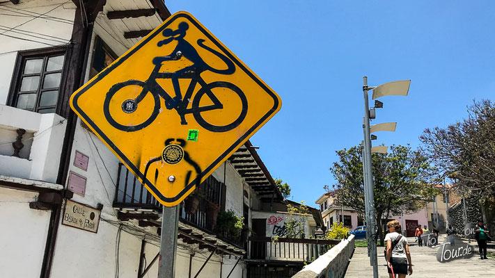 Cuenca - Straßenkunst ;-)