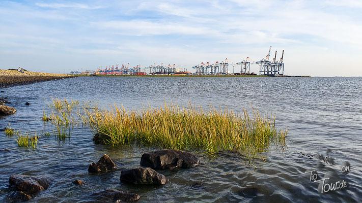 Blick auf Bremerhaven