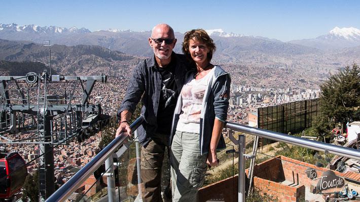 La Paz - Aussichtsplattform