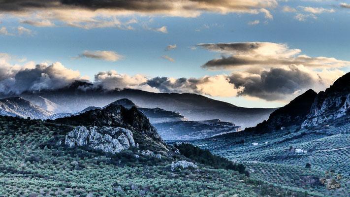 Grandiose Landschaft um Jaén
