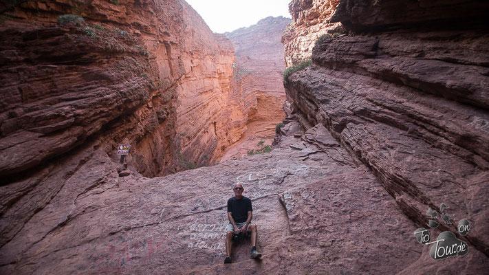 Quebrada de Cafayate - Garganta del Diablo