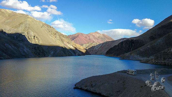 La Laguna am Agua Negra - Drohnefoto