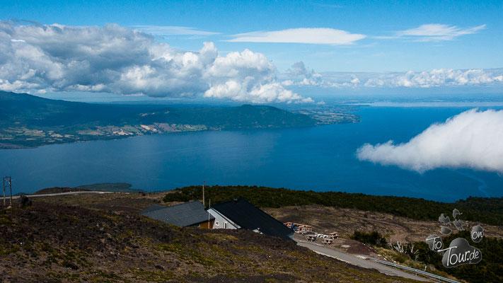 Vulkan Osorno - Aussicht auf den Lago Llanquihue
