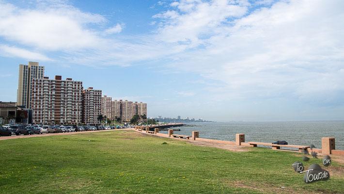 Skyline Montevideo von der anderen Seite