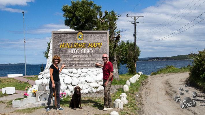 Quellon - Kilometer Null der Panamericana